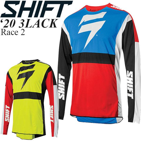 Shift オフロードジャージ 3LACK 2020年 最新モデル Race 2