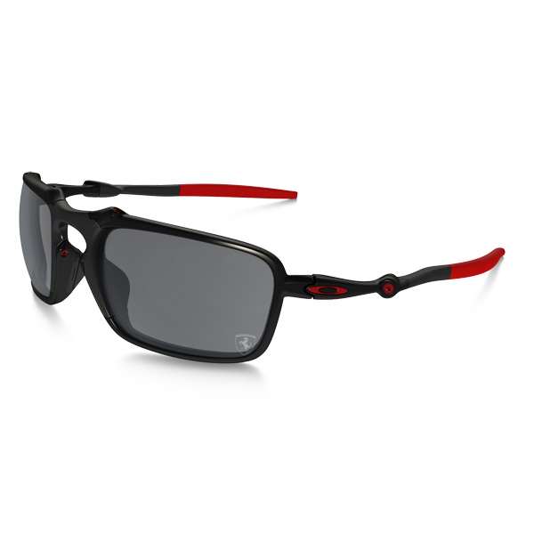 Oakley オークリー サングラス Badman バッドマン Ferrari Collection フェラーリ コレクション OO6020-07 【Dark Carbon/ Black Iridium Polarized】