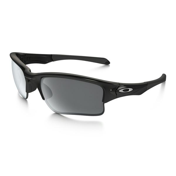 Oakley オークリー サングラス Quarter Jacket クォータージャケット OO9200-01 ユースフィット 【Polished Black/Black Iridium】