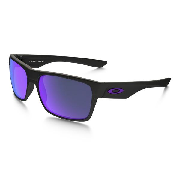 Oakley オークリー サングラス Two Face ツーフェイス OO9256-05 アジアンフィット 【Matte Black/Violet Iridium】