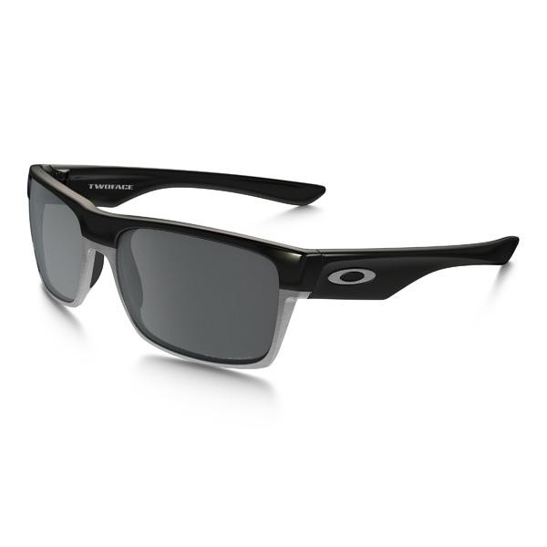 Oakley オークリー サングラス Two Face ツーフェイス OO9256-06 アジアンフィット 【Polished Black/Black Iridium Polarized】