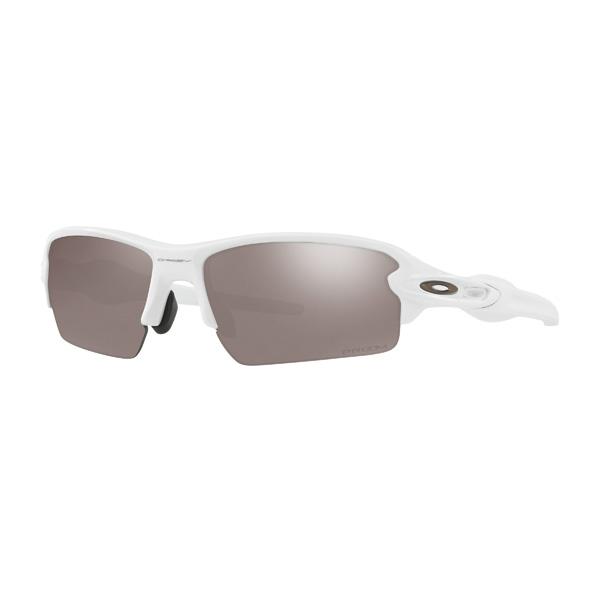 Oakley オークリー サングラス Flak 2.0 フラック2.0 OO9271-2461 アジアンフィット 【Polished White/Prizm Black Polarized】