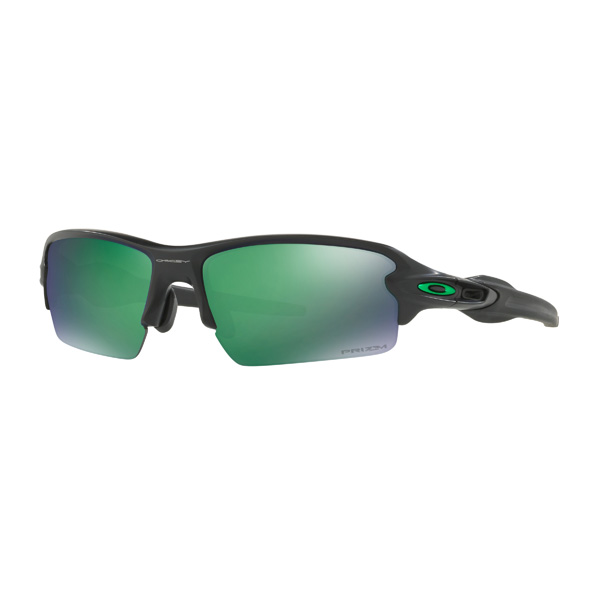 Oakley オークリー サングラス Flak 2.0 フラック2.0 OO9271-2561 アジアンフィット 【Matte Black/Prizm Jade Polarized】