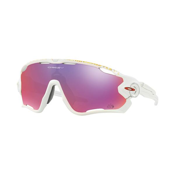 Oakley オークリー サングラス Jawbreaker ジョウブレイカー Tour de France ツール・ド・フランス OO9290-2731 【Matte White/Prizm Road】