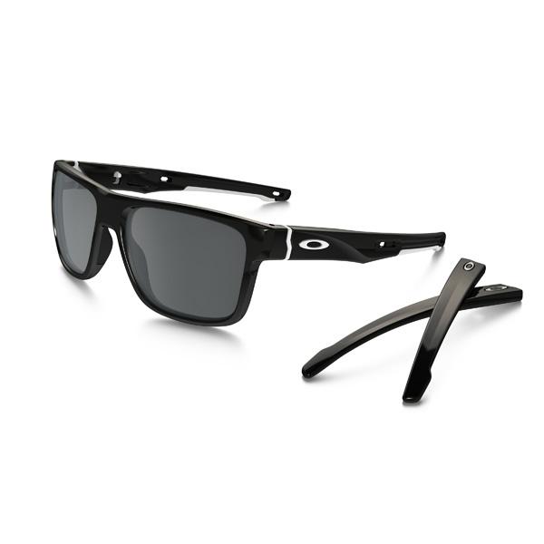 Oakley オークリー サングラス Crossrange R クロスレンジR OO9369-0257 アジアンフィット 【Polished Black/Black Iridium 】