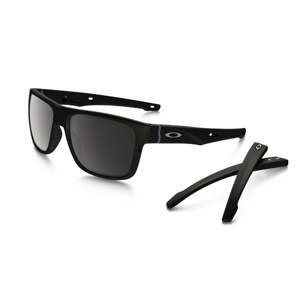 Oakley オークリー サングラス Crossrange クロスレンジ OO9371-0557 アジアンフィット 【Matte Black/Prizm Black Polarized 】