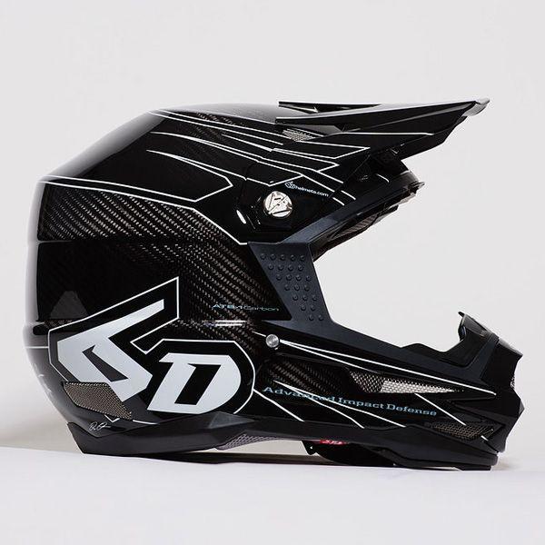 ◆超特価!! 6D ATB-1 カーボン MTB/DH/BMX 自転車用 ヘルメット Attack アタック