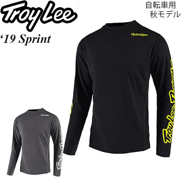 Troy Lee ジャージ 長袖 自転車用 Sprint 2019年 秋モデル