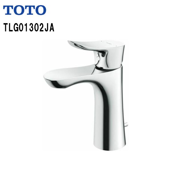 【送料無料】【TLG01302JA】TOTO 台付シングル混合水栓 洗面所用水栓ワンプッシュ式【MSIウェブショップ】
