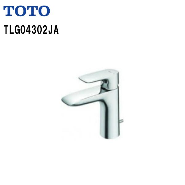 【TLG04302JA】TOTO 洗面所用 水栓金具 台付シングル混合水栓GAシリーズ ワンプッシュ式【送料無料】【MSIウェブショップ】