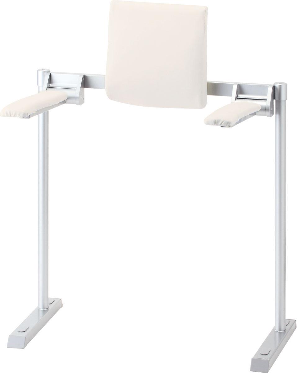 LIXIL INAX 肘掛け手すり背もたれ付 合成皮革タイプ品番【KFC-292E】【MSIウェブショップ】