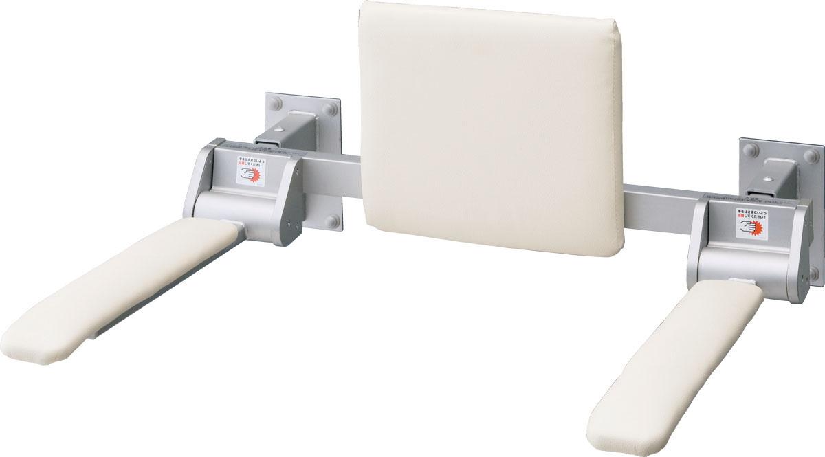LIXIL INAX 肘掛け手すり(壁付式)背もたれ付 合成皮革タイプ ロングタイプ 品番【KFC-274E】【MSIウェブショップ】