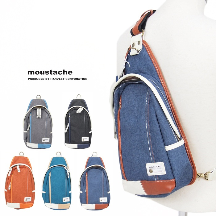 【moustache ムスタッシュ】 ボディバッグ かばん バッグ ショルダーバッグ メンズ men's 国内 ブランド YUQ-5763