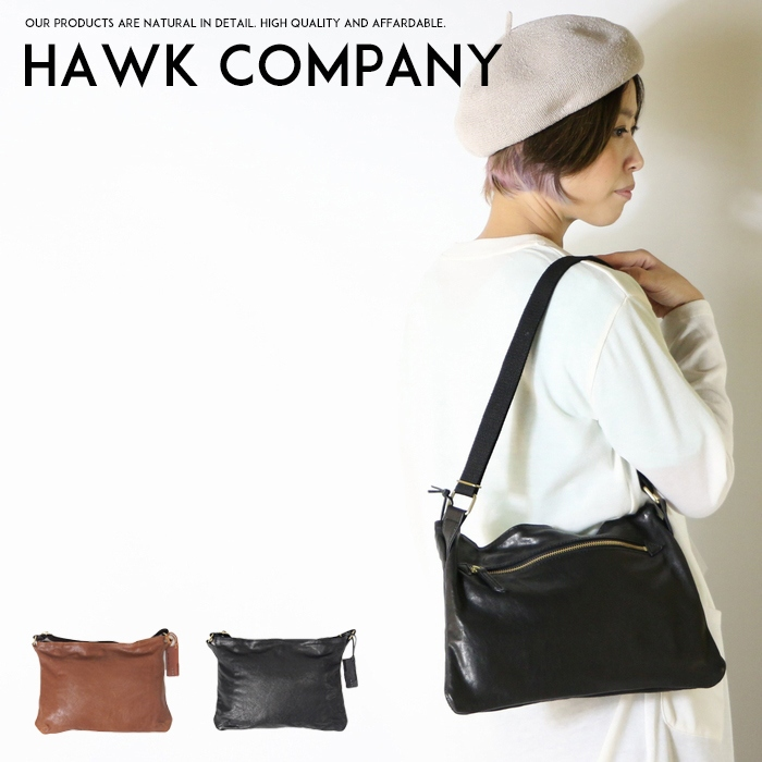 Hawk Company ホークカンパニー 一部予約 バッグ 通販 ショルダーバッグ ワンショルダー 小物 グッズ レディース プレゼント 7353 メンズ 彼氏 men's lady's 男性