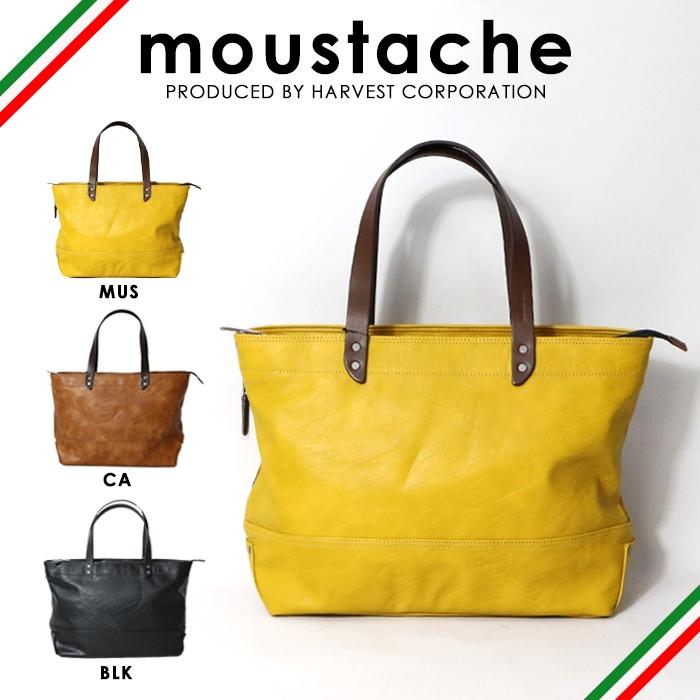 【moustache ムスタッシュ】 トートバッグ バッグ かばん 鞄 レザー 合成皮革 メンズ men's レディース lady's 国内 ブランド VYE-4805