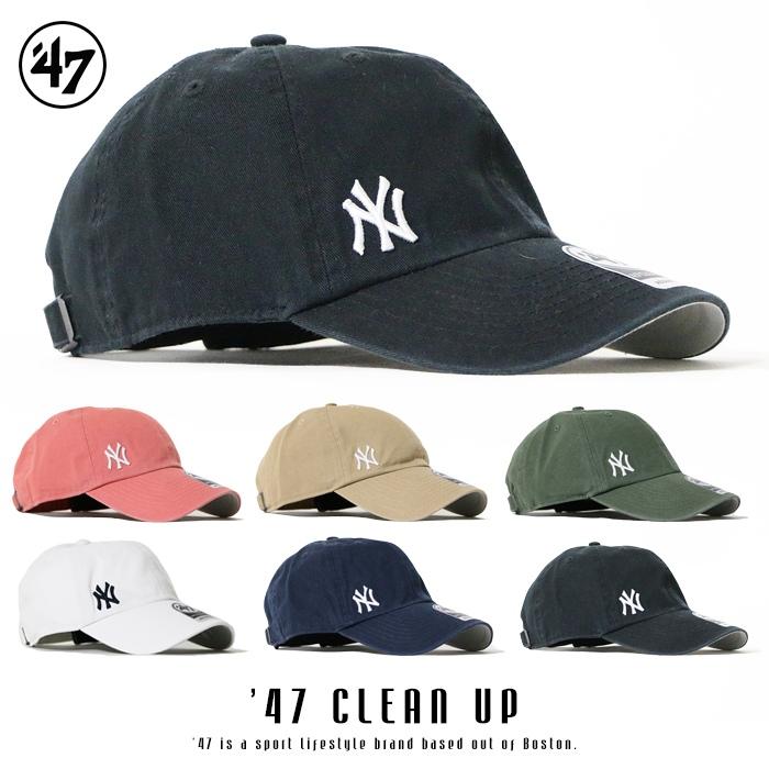返品送料無料 47Brand フォーティーセブンブランド キャップ スナップバック ミニロゴ yankees 帽子 ニューヨーク お買い得品 ヤンキース メンズ men's B-SUSPC17GWS インポート ブランド Yankees 国内正規品 '47 CLEAN 海外ブランド UP Suspense