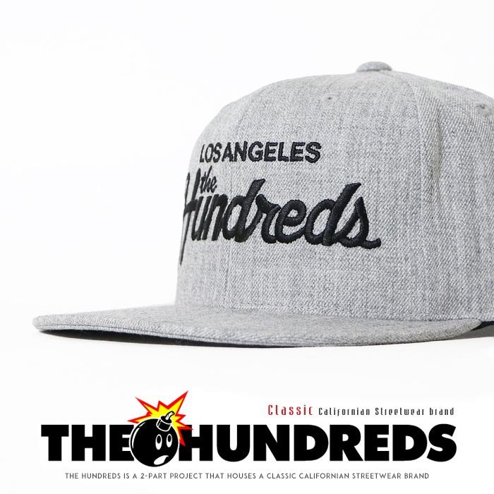 【THE HUNDREDS ザハンドレッズ ザハンドレッツ】 キャップ 帽子 スナップバックキャップ CAP ストリート スケート グラフィック ハンドレッズ メンズ men's 正規品 インポート ブランド 海外ブランド Forever Team Snapback