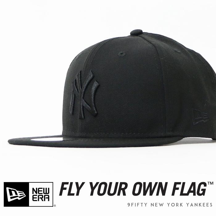 【NEWERA ニューエラ NEW ERA】 キャップ スナップバック 帽子 9fifty ニューヨークヤンキース YANKEES ブラック メンズ men's 国内正規品 インポート ブランド 海外ブランド 11308476