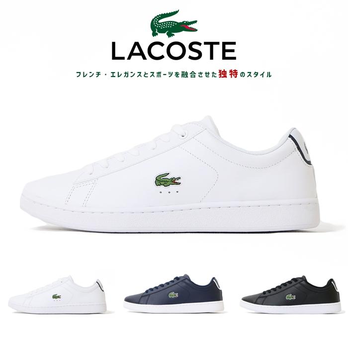 【LACOSTE ラコステ】 スニーカー シューズ 靴 くつ メンズ 国内正規品 インポート ブランド 海外ブランド SPM1002 CARNABY EVO BL1