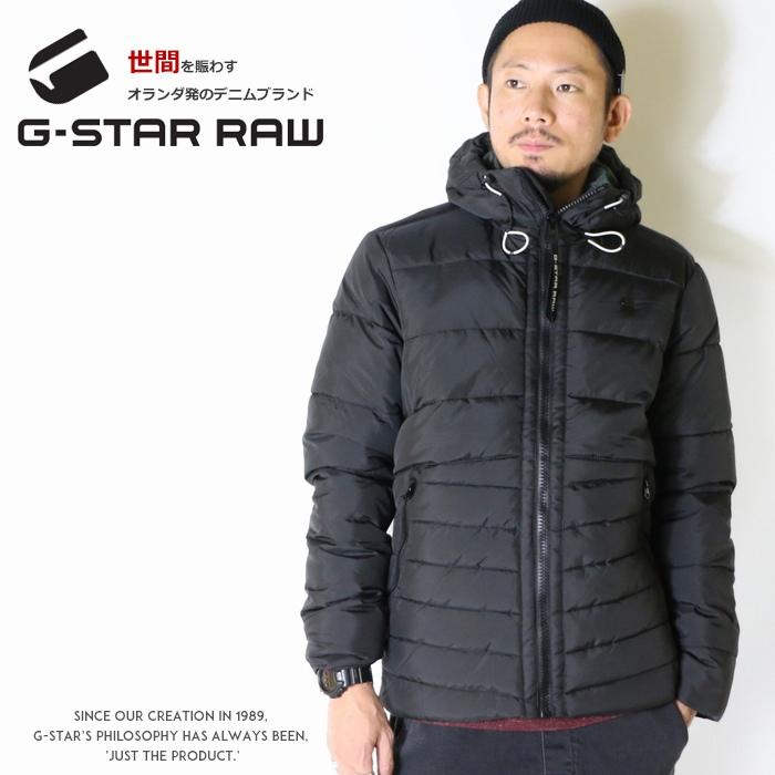 【セール 30%OFF】【G-STAR RAW ジースターロウ】 ジャケット 中綿 フード アウター キルティング ジースターロー gstar メンズ men's インポート ブランド 海外ブランド D10321-A569