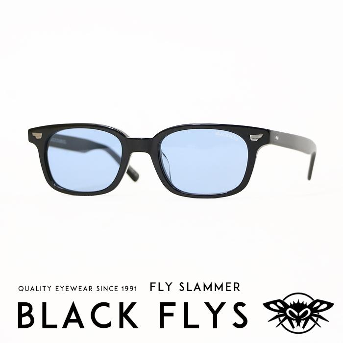 【BLACKFLY ブラックフライ】 FLY SLAMMER/フライスラマー サングラス ブルーレンズ SUNGLASS バイカーシェード ストリート系 サーフ系 メンズ men's レディース lady's 国内正規品 インポート ブランド 海外ブランド BF-11101-03