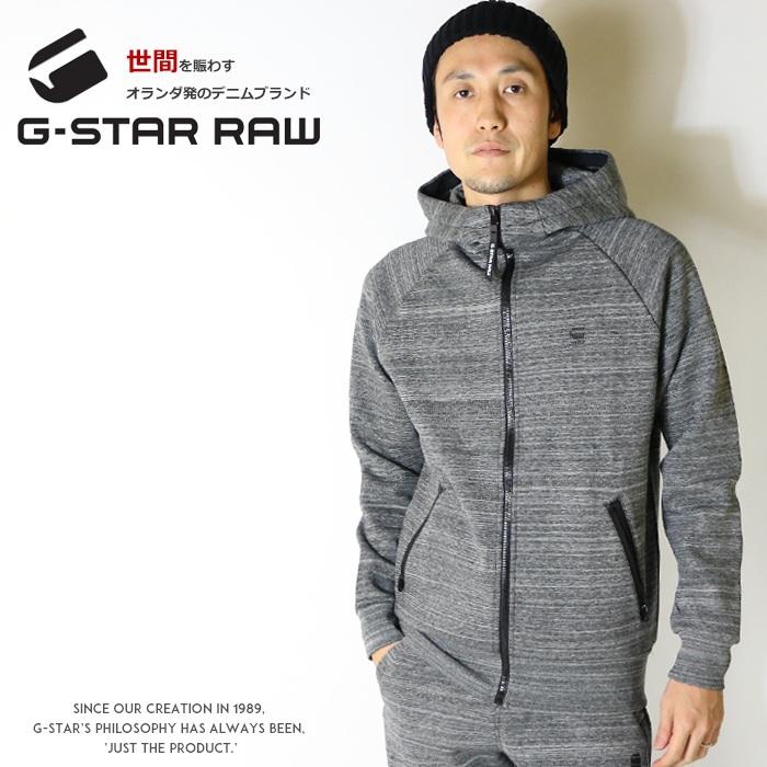 【2020年 春夏新作】【G-STAR RAW ジースターロウ】 パーカー スウェット トレーナー ジップアップ テックウェア 長袖 ジースターロー gstar メンズ men's 国内正規品 インポート ブランド 海外ブランド D14585-B860