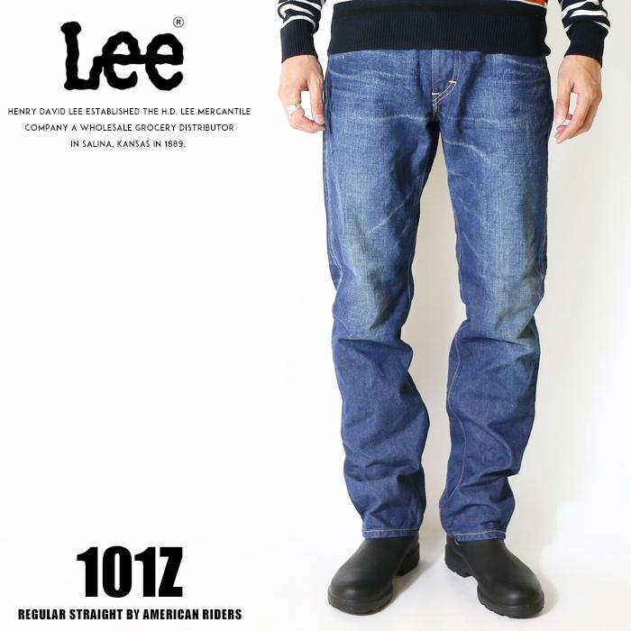 Lee リー ジーンズ 101z アメリカンライダース 日本製 ストレート デニム 裾直し無料 送料無料 ユーズド メンズ インポート ブランド 海外 ブランド LM5101-446