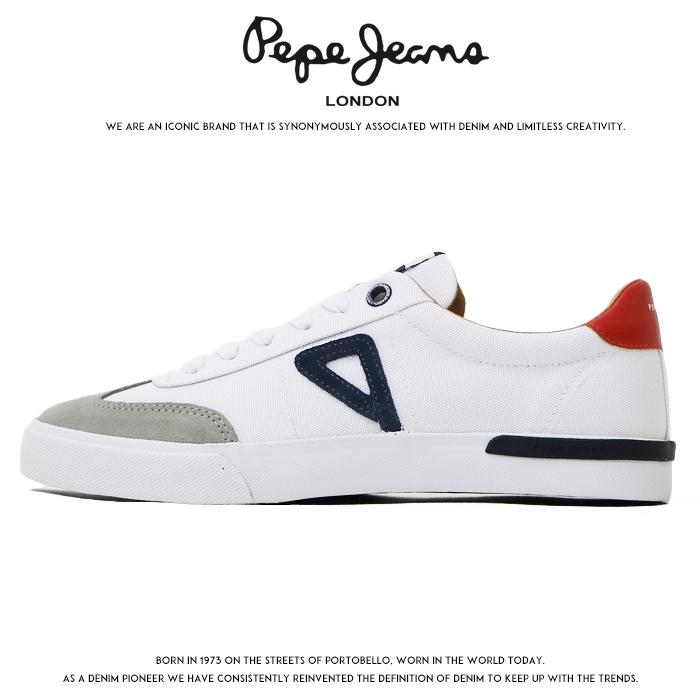 【2020年 春夏新作】【Pepe Jeans ペペジーンズ】 スニーカー シューズ 靴 くつ ローカット メンズ 国内正規品 インポート ブランド 海外ブランド ヨーロッパブランド PMS30532-1