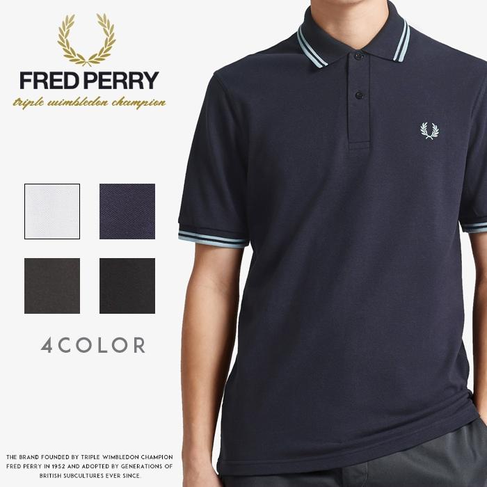 【2020年 春夏新作】【FRED PERRY フレッドペリー】 ポロシャツ 半袖 刺繍 ロゴ カノコ ピケ メンズ men's 国内正規品 インポート ブランド 海外ブランド M12