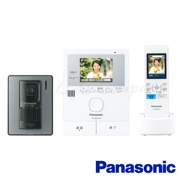 パナソニック VL-SWD220K テレビドアホン ワイヤレスモニター子機付 留守中録画 開閉センサー/ドアセンサー通知機能 『VLSWD220K』