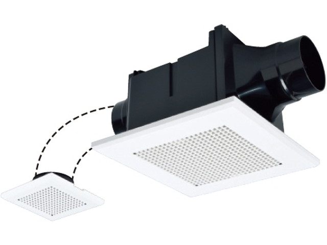 三菱 VD-10ZFVC5 換気扇 サニタリー用 天井埋込形 2部屋換気用 風圧式シャッター 24時間換気機能 DCブラシレスモーター HN+・DBM採用 『VD10ZFVC5』
