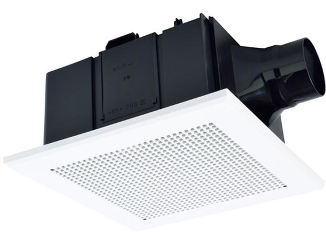 三菱 VD-18ZLSC12-S 換気扇 サニタリー用 天井埋込形 風圧式シャッター 低騒音形 24時間換気機能 HNコーティングプラス