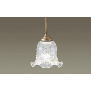 パナソニック LGB15367K 吊下型 LED(電球色) ペンダント ガラスセード 直付型 白熱電球40形1灯相当 ランプ付(同梱) 『LGB15367K』