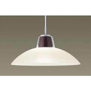 パナソニック LGB15386 吊下型 LED(電球色) ダイニング用ペンダント ガラスセード 引掛シーリング 白熱電球100形1灯相当 ランプ付(同梱) 『LGB15386』
