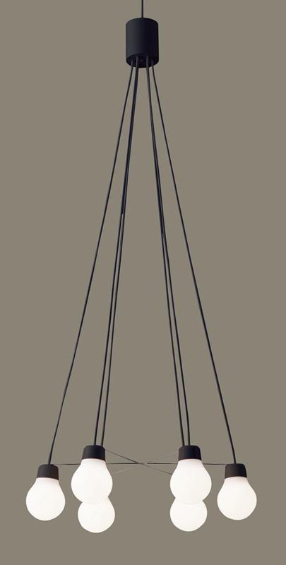 パナソニック LGB19629B CE1 吊下型 LED(温白色) ペンダント 拡散タイプ 直付タイプ 白熱電球60形6灯器具相当 ~6畳 LED一体形 『LGB19629BCE1』