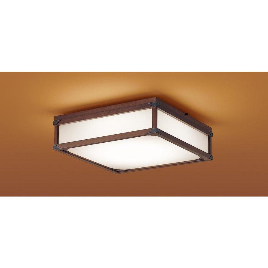 パナソニック LGBZ1867 和風照明 LEDシーリングライト 8畳用 昼光色-電球色 リモコン調光・調色 3350lm 匠庵シリーズ カチットF リモコン付