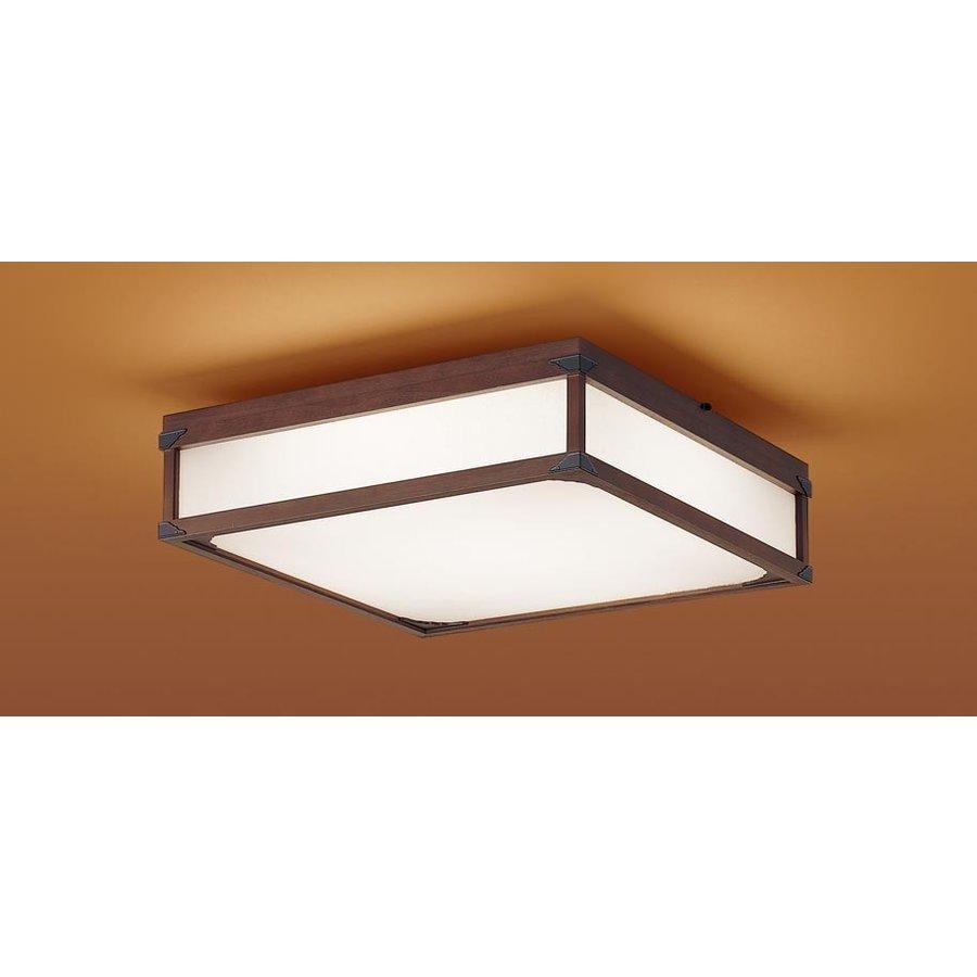 パナソニック LGBZ2767 和風照明 LEDシーリングライト 10畳用 昼光色-電球色 リモコン調光・調色 4250lm 匠庵シリーズ カチットF リモコン付