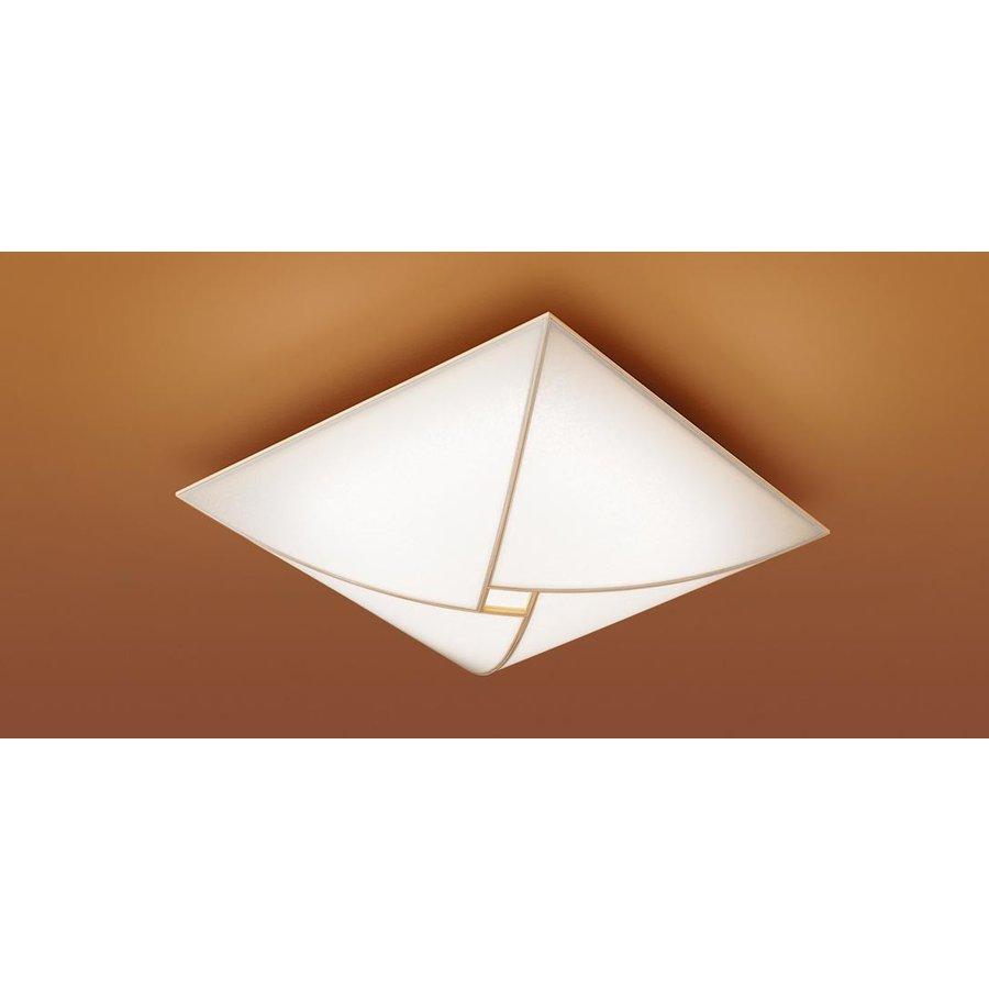 パナソニック LGBZ2774K 和風照明 LEDシーリングライト 10畳用 昼光色-電球色 リモコン調光・調色 4050lm 強化和紙張り カチットF リモコン付