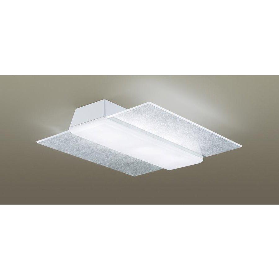 パナソニック LGBZ3187 和風照明 LEDシーリングライト エアパネルLED 12畳用 昼光色-電球色 リモコン調光・調色 5499lm 和紙模様 カチットF リモコン付