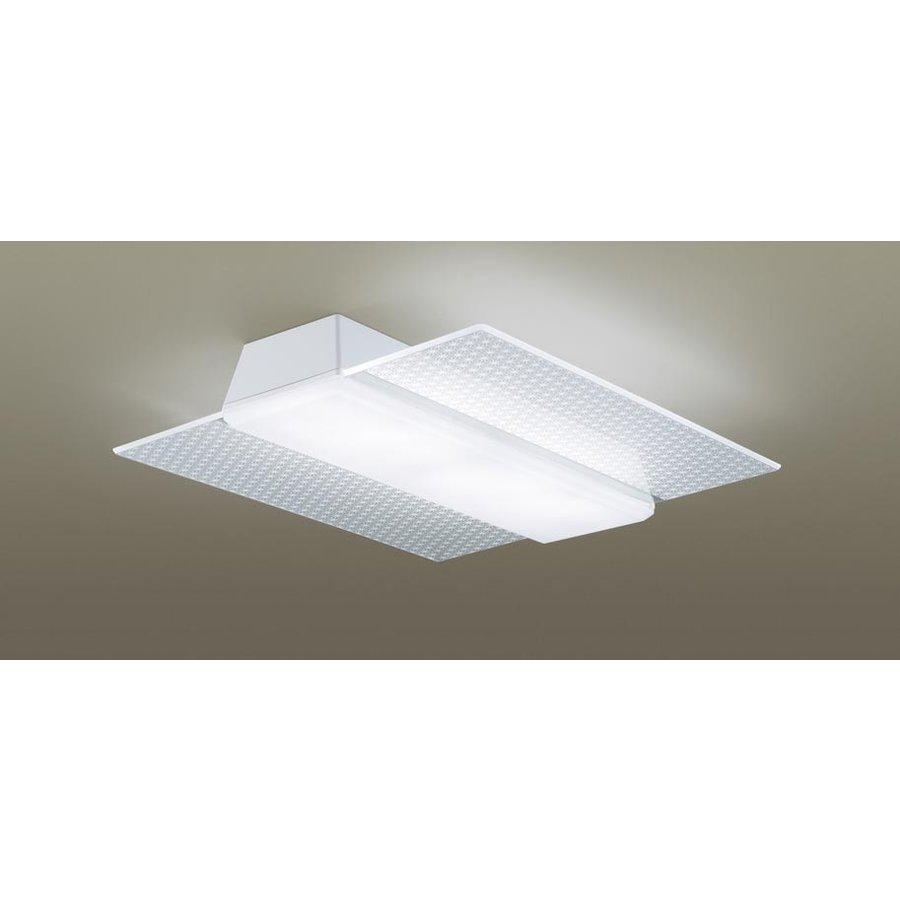 パナソニック LGBZ3188 和風照明 LEDシーリングライト エアパネルLED 12畳用 昼光色-電球色 リモコン調光・調色 5400lm 麻の葉模様 カチットF リモコン付