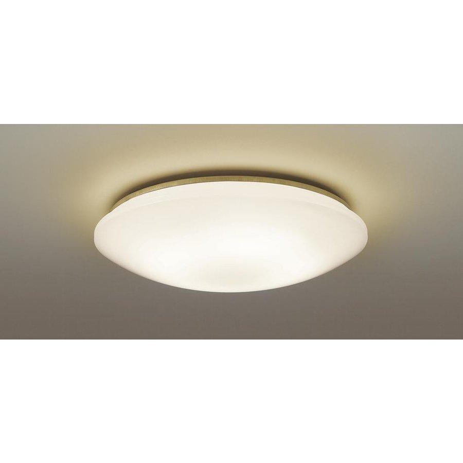 パナソニック LSEB1082K LEDシーリングライト 電球色 天井取付型 ~12畳用 調光・単色タイプ 5000lm カチットF Casualシリーズ リモコン付