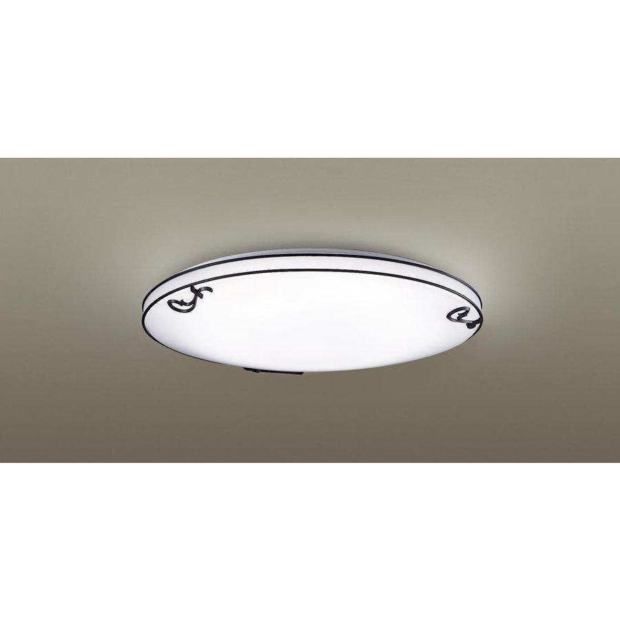 パナソニック LSEB1127 LEDシーリングライト 天井取付型 ~10畳用 調光・調色タイプ 昼光色~電球色 4700lm カチットF FrenchChicシリーズ リモコン付