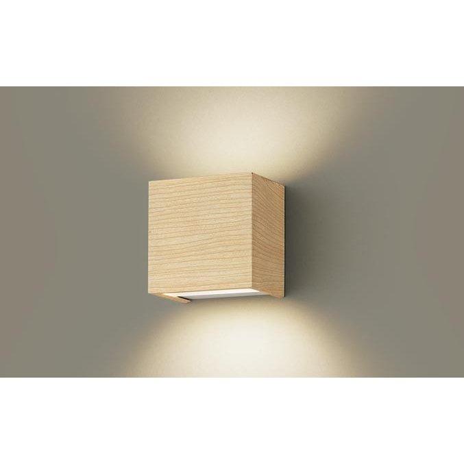 パナソニック LSEB4025 LE1 LEDブラケット 壁直付型 温白色 メイプル調 308lm 拡散形 白熱電球60形1灯器具相当 LED一体形 『LSEB4025LE1』