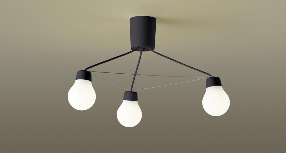 パナソニック LGB57328B CE1 吊下型 LED(電球色) シャンデリア 拡散タイプ・引掛シーリング方式 白熱電球60形3灯器具相当 LED一体形 『LGB57328BCE1』
