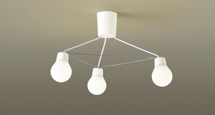 パナソニック LGB57328W CE1 吊下型 LED(電球色) シャンデリア 拡散タイプ・引掛シーリング方式 白熱電球60形3灯器具相当 LED一体形 『LGB57328WCE1』
