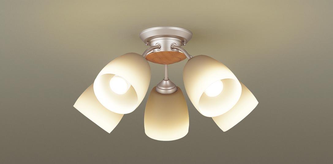 パナソニック LGB57516 吊下型 LED(電球色) シャンデリア U-ライト方式 白熱電球60形5灯器具相当/~10畳 ランプ付(同梱) 『LGB57516』