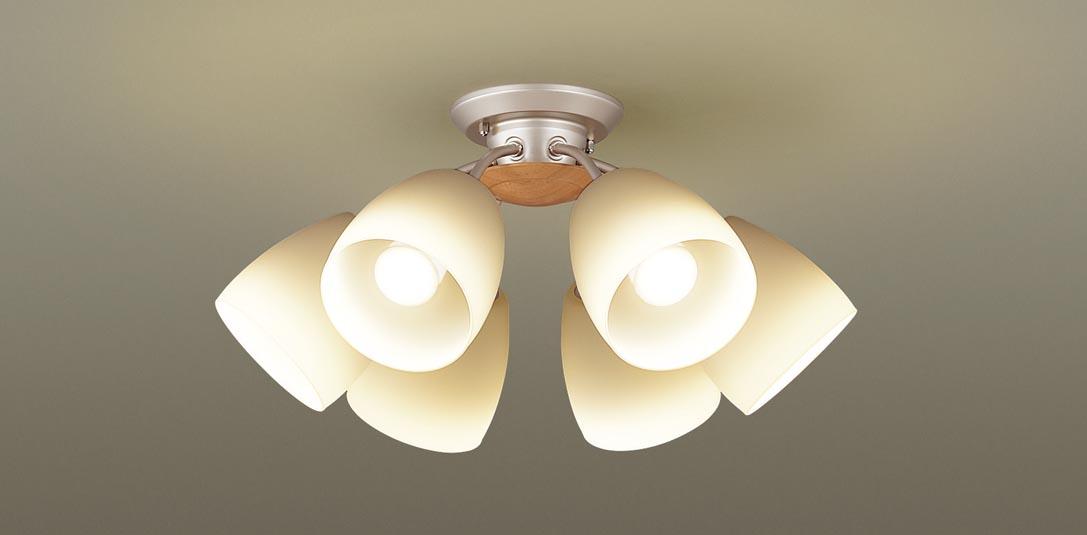 パナソニック LGB57616 吊下型 LED(電球色) シャンデリア U-ライト方式 白熱電球60形6灯器具相当/~12畳 ランプ付(同梱) 『LGB57616』