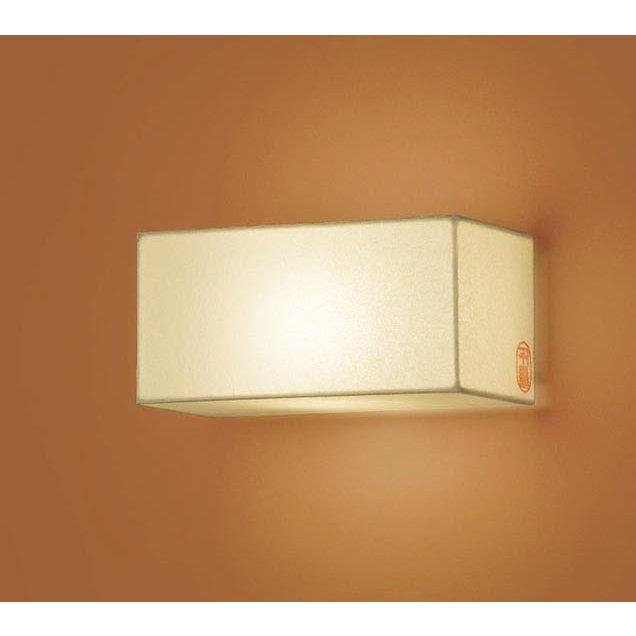 パナソニック LGB81650Z 和風照明 壁直付型 LED 電球色 ブラケット 白熱電球60形1灯器具相当 ランプ付(同梱)