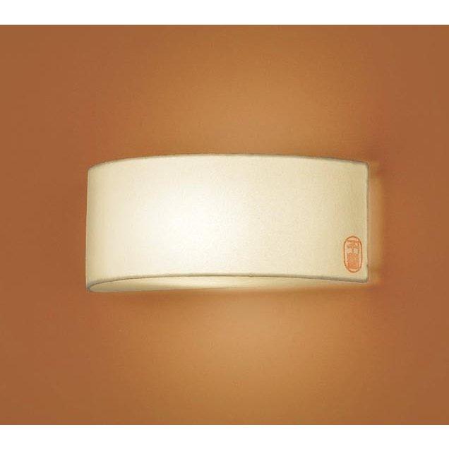 パナソニック LGB81651Z 和風照明 壁直付型 LED 電球色 ブラケット 白熱電球60形1灯器具相当 ランプ付(同梱)