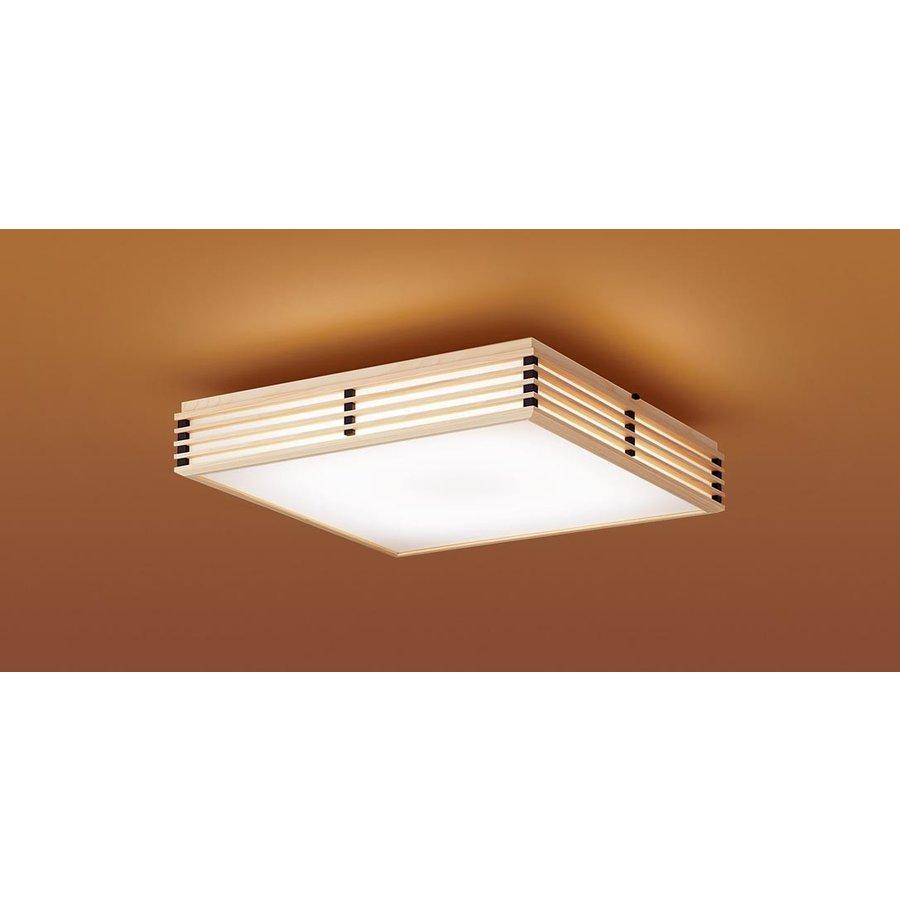 パナソニック LGC55805 和風照明 LED 昼光色~電球色 シーリングライト リモコン調光・リモコン調色 カチットF パネル付型 ~12畳